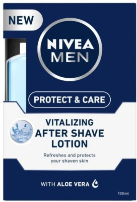 Nivea Men Protect & Care Vitalizing After Shave Lotion (2 x 100 ml)