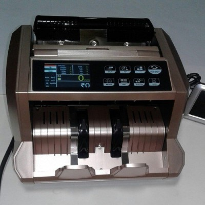 swaggers latest mix money counting machine for new currency with softwear updation Note Counting Machine