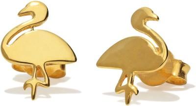 SAVYA JEWELS Yellow Gold 18kt Stud Earring