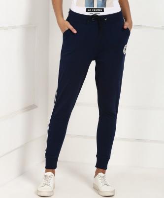 Converse Regular Fit Women Blue Trousers
