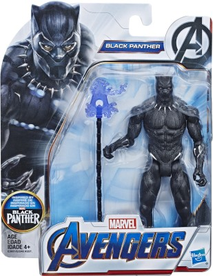 Marvel Avengers End Game Black Panther 6-Inch-Scale Super Hero Action Figure Toy