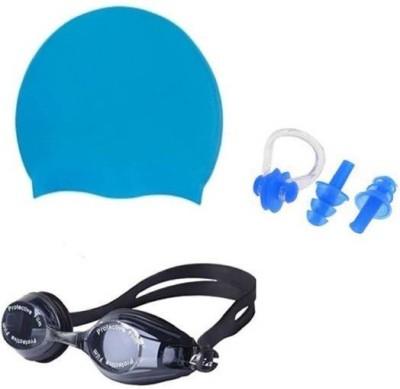 Kamni Sports swimming kit cap ,googles ,ear plugs CB-679 Swimming Kit
