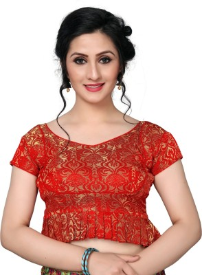 Amrutam Fab V-Neck Women Blouse