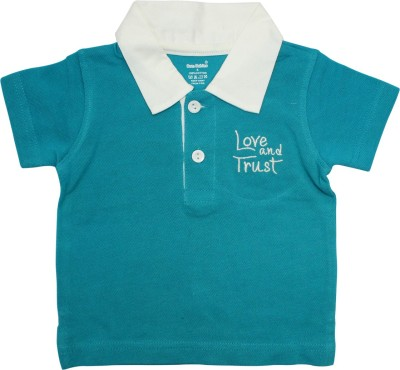 Born Babies Boys & Girls Embroidered Cotton Blend T Shirt