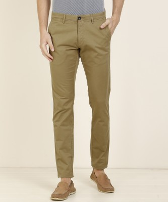U.S. Polo Assn. Slim Fit Men's Brown Trousers