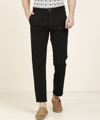 U.S. Polo Assn. Slim Fit Men Black Trousers
