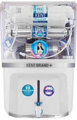 Kent Grand Plus New With In Tank UV 9 L RO + UV + UF + TDS Water Purifier