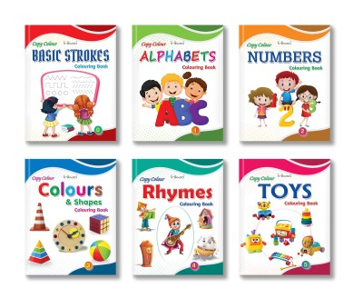 Colouring Books Collections for Early Learning by InIkao - Copy Color Colouring Books