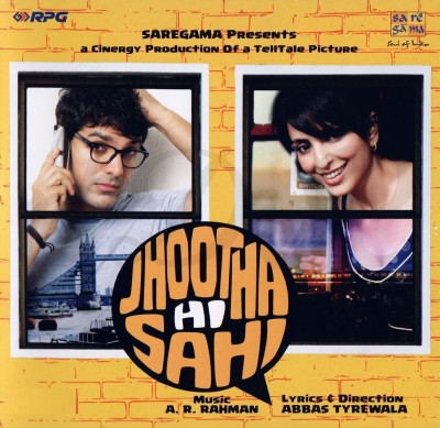 Jhootha Hi Sahi - Indian Bollywood Music Audio CD Standard Edition