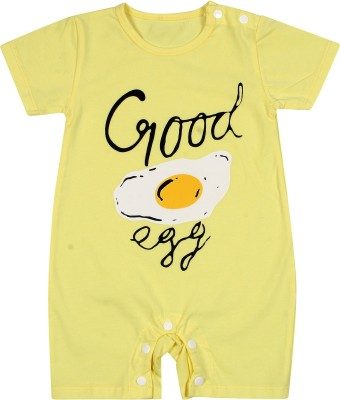 Icable Baby Boys & Baby Girls Yellow Bodysuit