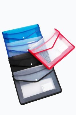 Crete PP Document Carrier/Button Bag
