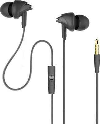 boAt 110 Black Wired Headset with Mic