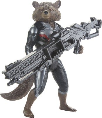 Marvel Avengers Endgame Titan Hero Series Rocket Raccoon 12-Inch-Scale Super Action Figure with Power FX Port