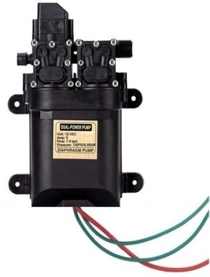 BalRama 12 Volt DC Auto On/Off Double Head 100w Pressure Pump Electric Pressure Washer