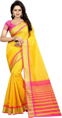 Yashika Woven Daily Wear Cotton Silk Saree