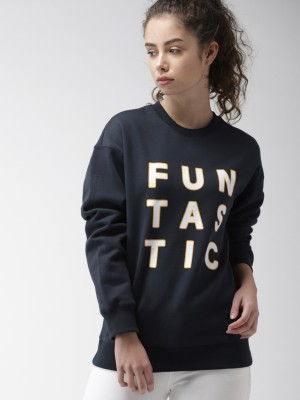 FOREVER 21 Full Sleeve Printed Women Sweatshirt