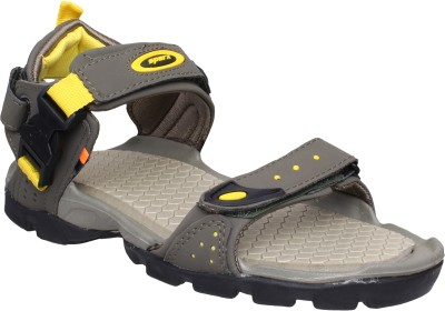 Sparx Sparx Men SS-502 Olive Yellow Floater Sandals Men Olive Casual