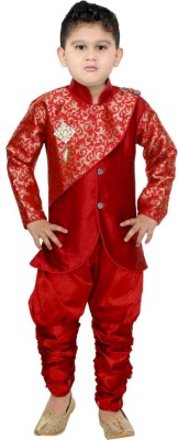 FTC FASHIONS Boys Festive & Party Kurta and Pyjama Set