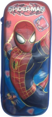 PURPLE RABBIT COMIC SPIDERMAN 3D EMBOSSED Art EVA Pencil Box