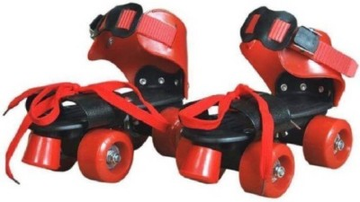 ExaltedCollection Pro Lite Roller Skates Shoes For Kids Quad Roller Skates - Size 16-22 UK