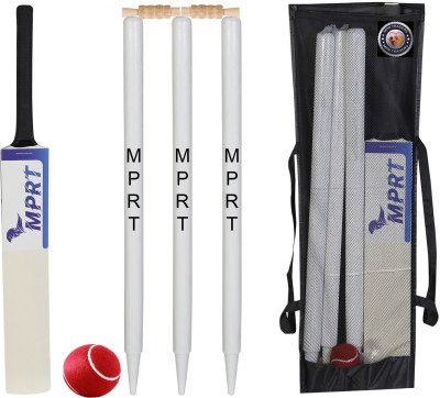 MPRT Wooden Cricket Kit For Tennis Ball Size 3 Combo For Age Group 5-10 Years Cricket Kit