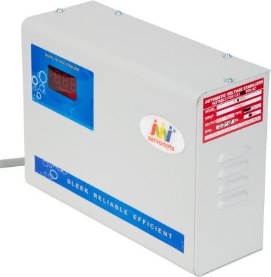 Servomate 5 KVA Automatic Stabilizer For 2 Ton AC and all other house hold appliances (170v-270v) Aluminium