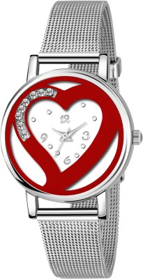 True Colors TC-162 New Design White Dial With Silver chain Unique Finishing Analog Watch  - For Women