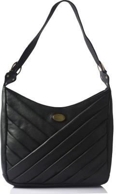 Genwayne ladies handbags for women leather tote bags Black Shoulder Bag