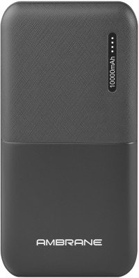 Ambrane 10000 mAh Power Bank (PP-111Blk, Power bank)