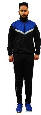 Neulife Solid Men Track Suit