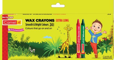 Camel Wax Crayons Extra Long