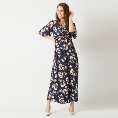 Miss Chase Women Maxi Multicolor Dress
