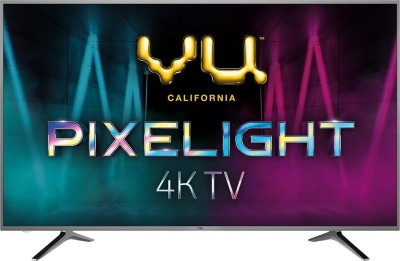 Vu Pixelight 108cm (43 inch) Ultra HD (4K) LED Smart TV
