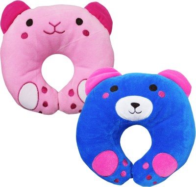 Miss & Chief Cartoon Baby Pillow Pack of 2