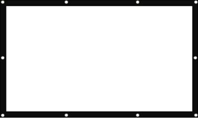 Mezire ®Eyelet Projector Screen 120