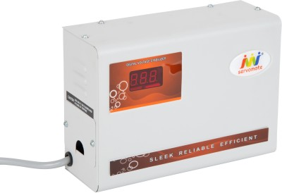 Servomate 4 KVA Automatic Voltage Stabilizer 100% Copper (110v-280v) For upto 1.5 Ton AC and all other house hold appliances