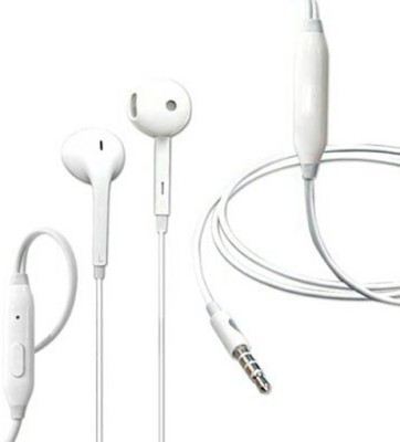 Alafi Deep bass oppo earphone Mobile Headsets a2 with Mic (In the Ear) Wired Headset with Mic