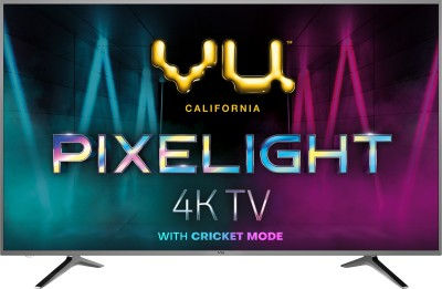 Vu Pixelight 108cm (43 inch) Ultra HD (4K) LED Smart TV  with Cricket Mode