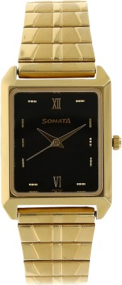 Sonata NF7007YM14C Analog Watch  - For Men