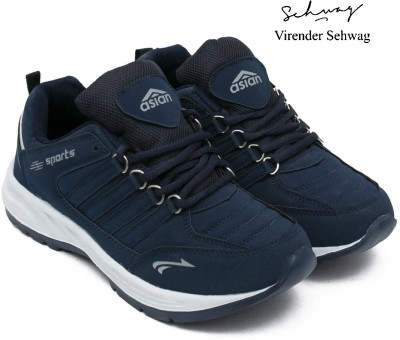 Asian Cosco Navy Blue Gym Shoes,Training Shoes,Hockey Shoes,Volleyball Shoes,Sports Shoes,Walking Shoes,Running Shoes Running Shoes For Men