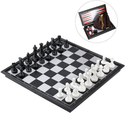 Miss & Chief Toyhouse Magnetic Travel Chess Set Board Game
