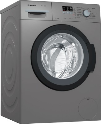 Bosch 7 kg Fully Automatic Front Load Washing Machine with In-built Heater Grey