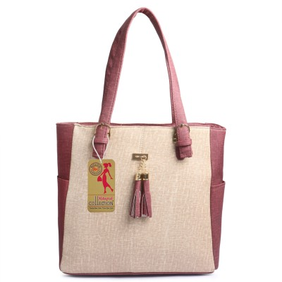 Ritupal Collection Women Beige Shoulder Bag