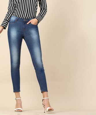 Herway Skinny Women Blue Jeans