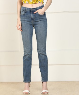 Levi's Tapered Fit Women Blue Jeans