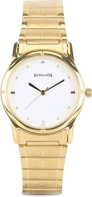 Sonata NC7023YM01C Analog Watch  - For Men