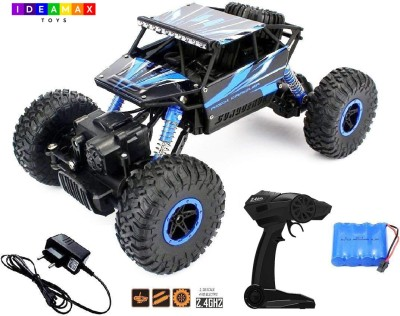 IDEAMAX Rock Crawler Car 4X4, Monster Truck, Rally Car, 2.4 GHZ, Rechargeable Remote Control Car 4WD