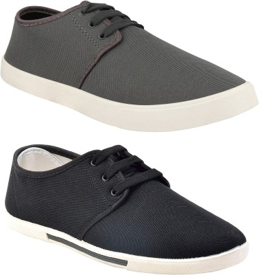Chevit Combo Pack of 2 Sneakers With Loafers For Men