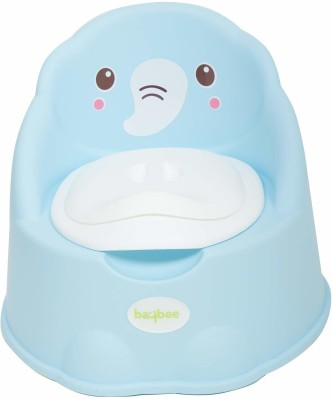 Baybee Baby Potty Training Seats -Potty Toilet with Removable Tray &Potty Chair Cum Seat BPA Free 0-5 Years kids - Blue Potty Seat