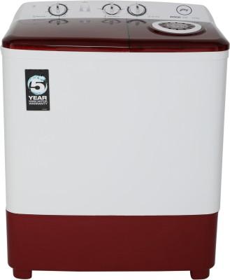 Godrej 6.5 kg Semi Automatic Top Load Washing Machine White, Maroon